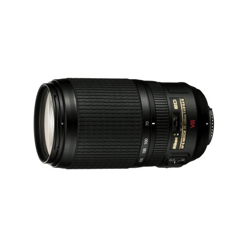 Objektív Nikon NIKKOR 70-300MM F4.5-5.6G AF-S VR IF-ED čierny + Doprava zadarmo