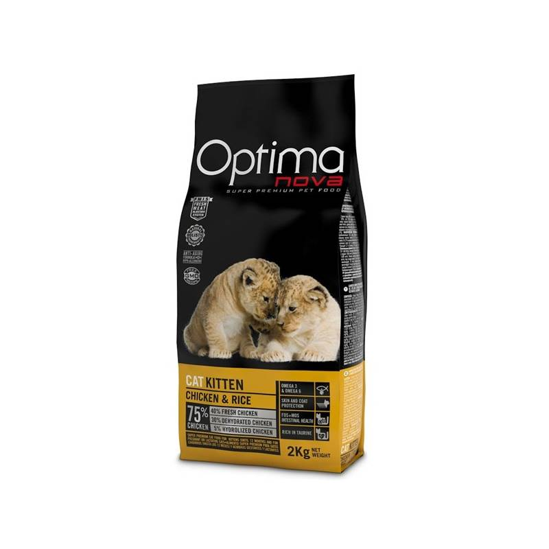 Granule Optima nova Cat Kitten 2 kg