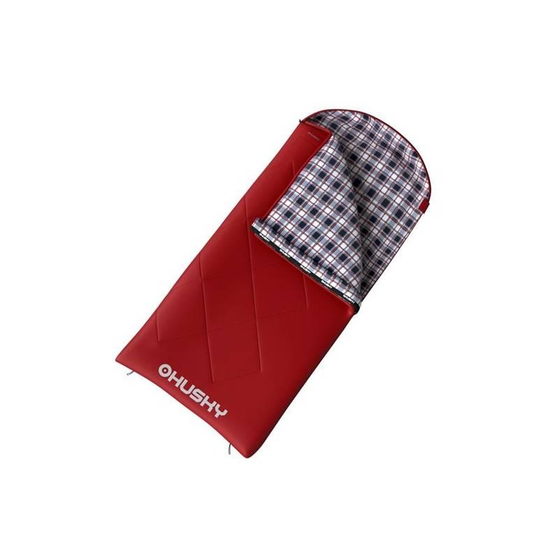 Spací vak Husky dekový Kids Galy -5 °C červený + Doprava zadarmo