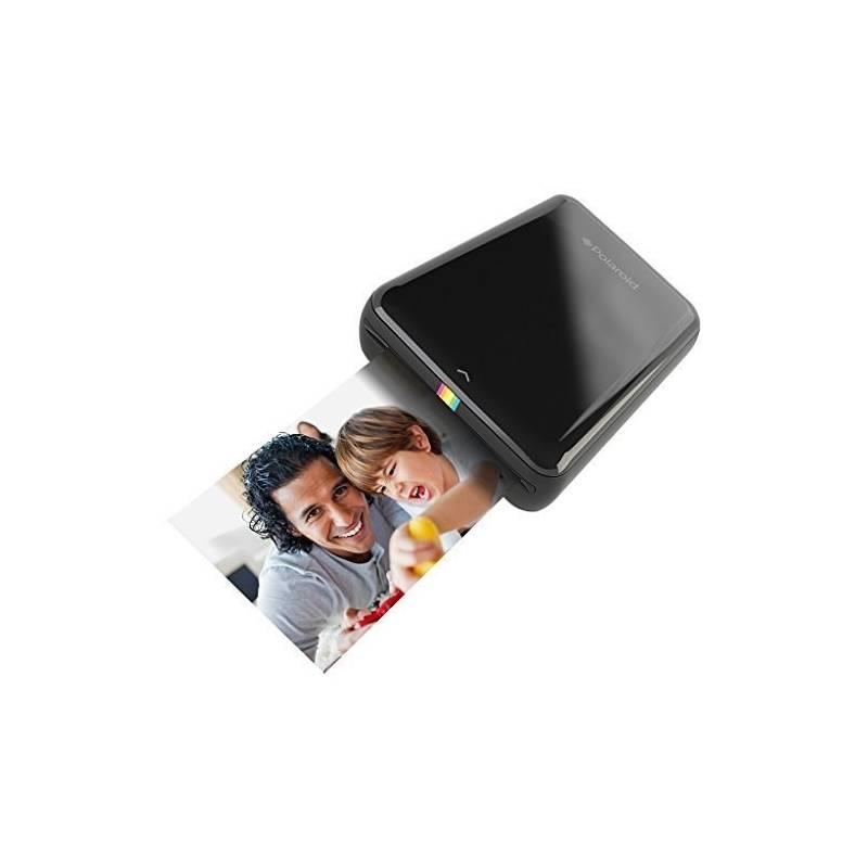 Fototlačiareň Polaroid ZIP pro Android / iOS, bezdrátová, mobilní (POLMP01B) čierna + Doprava zadarmo