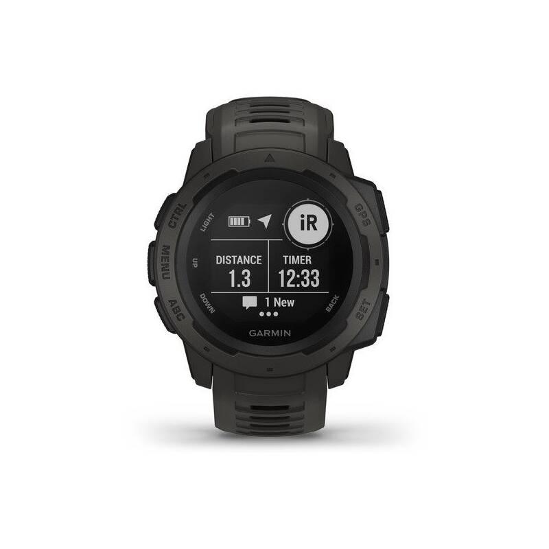 GPS hodinky Garmin Instinct (010-02064-00) černé