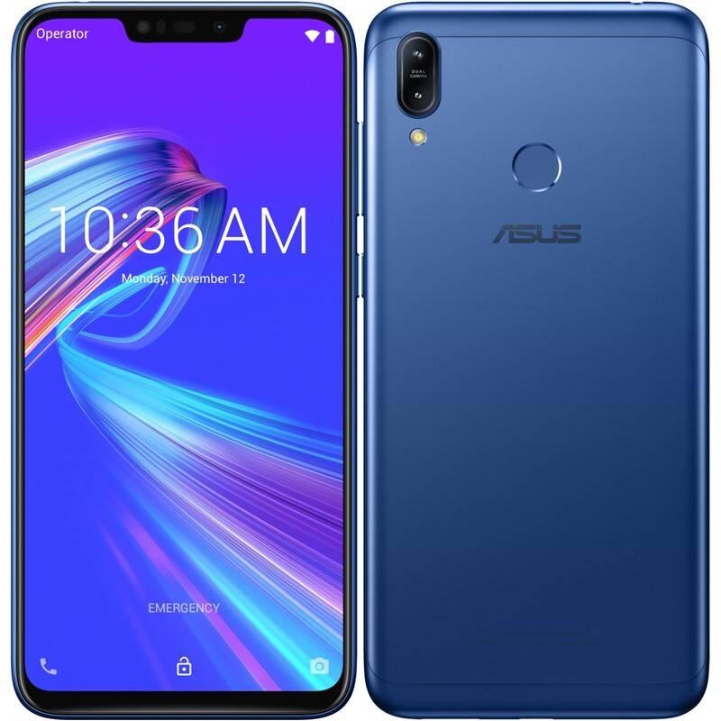 Mobilný telefón Asus ZenFone Max M2 Dual SIM (ZB633KL-4D071EU) modrý