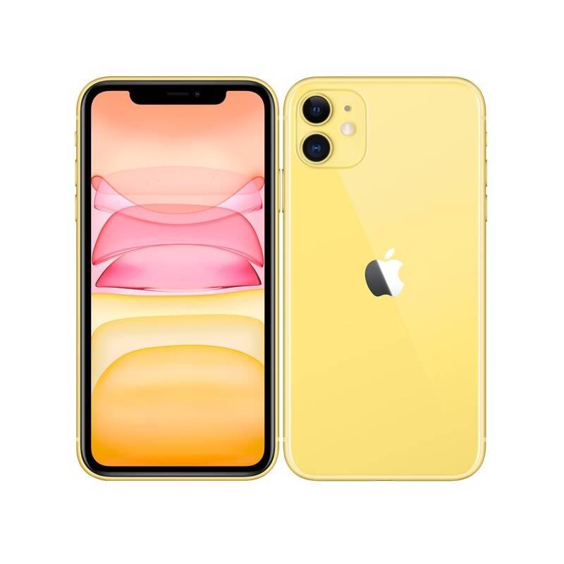 Mobilný telefón Apple iPhone 11 128 GB - Yellow (MWM42CN/A) + Extra zľava 3 % | kód 3HOR2020