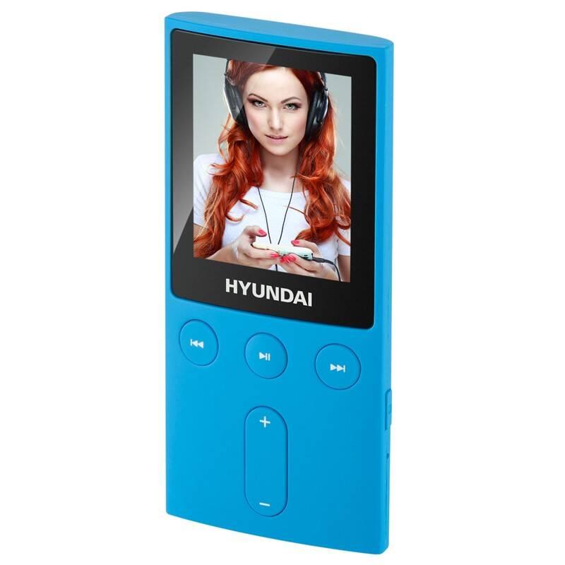 MP3 prehrávač Hyundai MPC 501 GB4 FM BL modrý