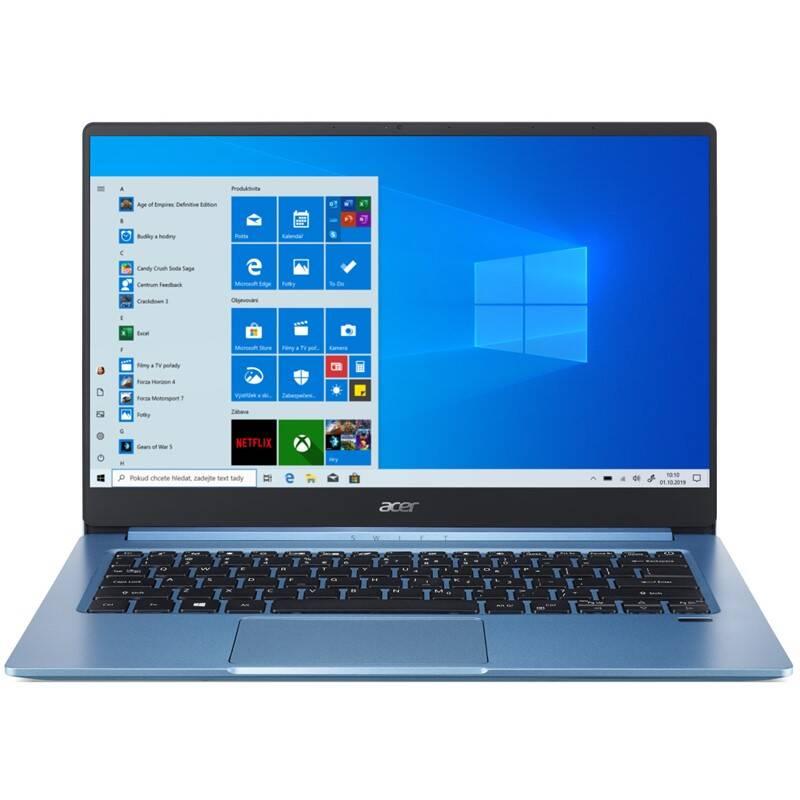 Notebook Acer Swift 3 (SF314-57-55MV) (NX.HJHEC.001) modrý + Doprava zadarmo