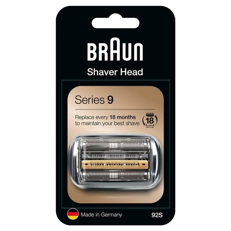 Príslušenstvo pre holiace strojčeky Braun Series 9 Combipack 92S strieborné + Doprava zadarmo