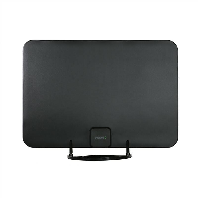 Anténa pokojová Evolveo Xany 2A LTE, 45dBi aktivní DVB-T/T2, LTE filtr (tdexany2a)