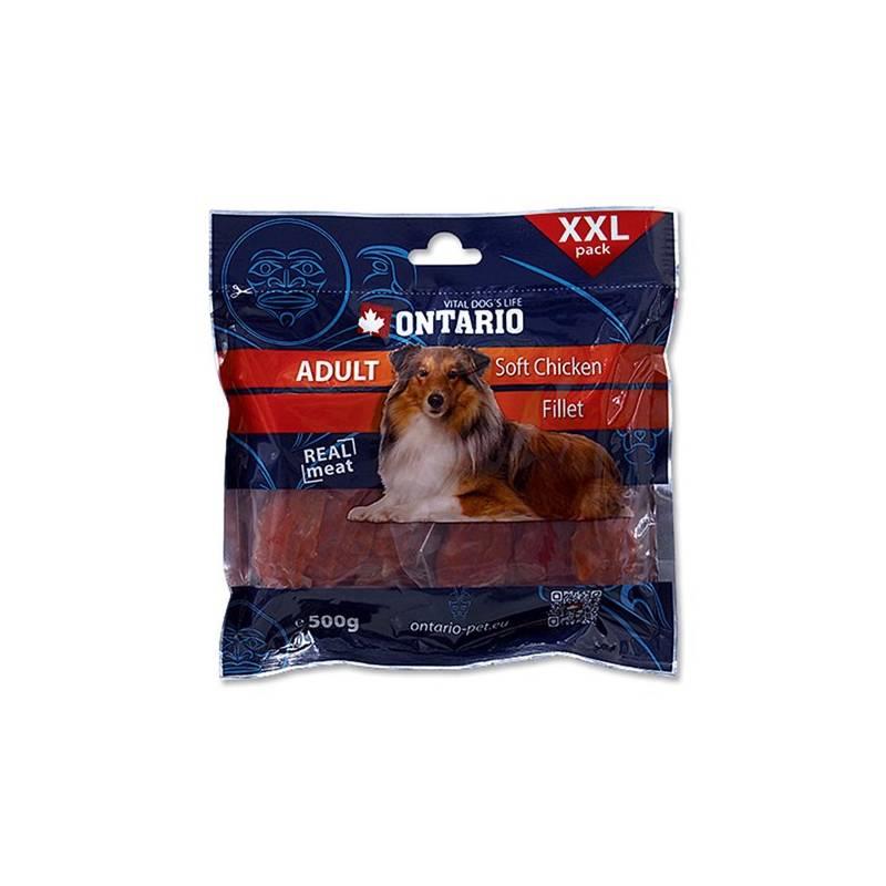 Pochúťka Ontario SnackAdult Soft Chicken jerky 500 g