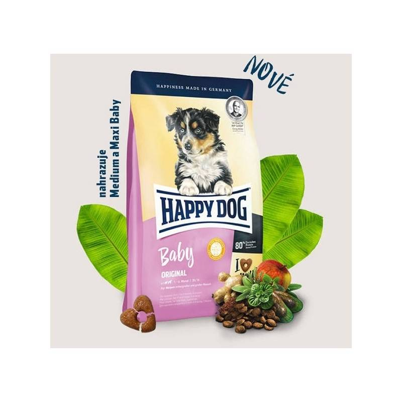 Granule HAPPY DOG Baby Original 10 kg