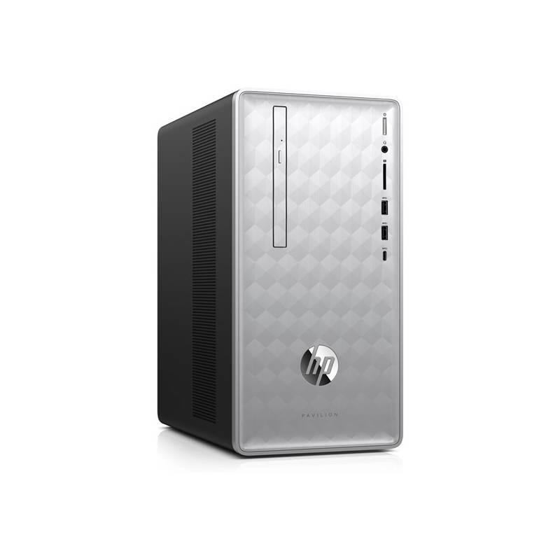 Stolní počítač HP Pavilion 590-p0000nc (4JW82EA#BCM) stříbrný