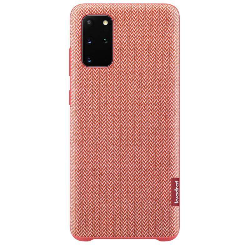 Kryt na mobil Samsung Kvadrat pro Galaxy S20+ (EF-XG985FREGEU) červený