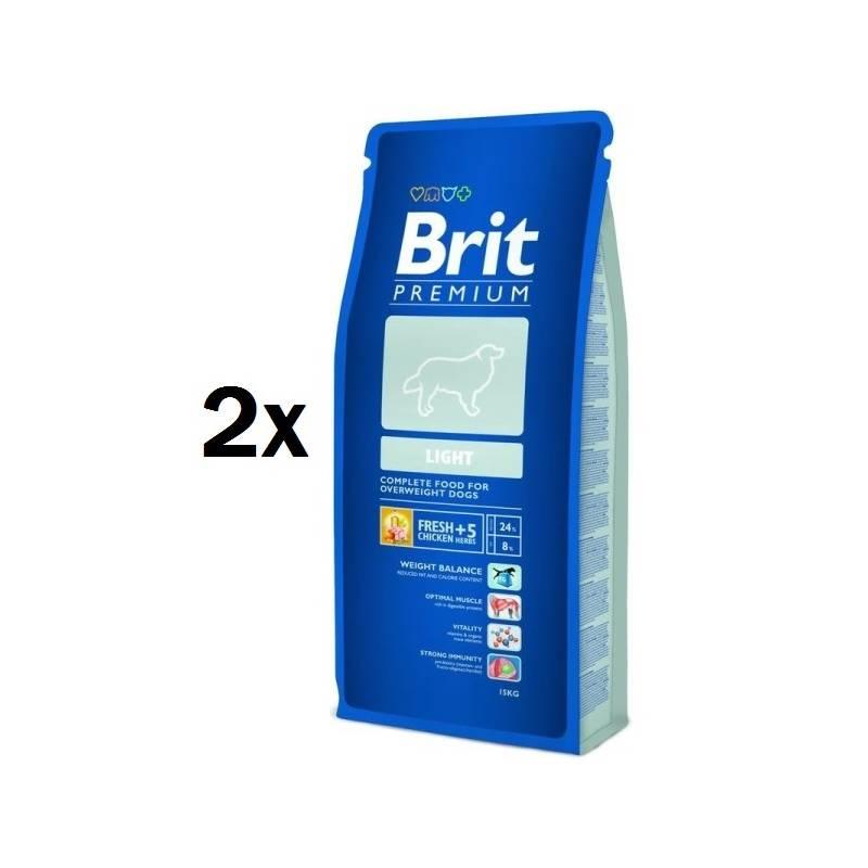 Granule BRIT Premium Dog Light 15kg