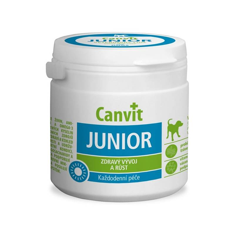 Tablety Canvit Junior pro psy 230g new