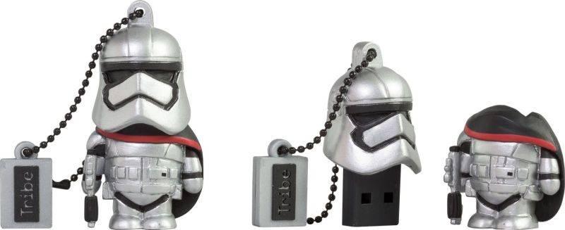 USB flash disk TRIBE Star Wars Captain Phasma, 8 GB (405025) sivý