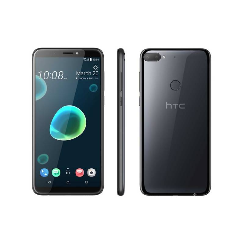Mobilný telefón HTC Desire 12+ Dual SIM (99HAPF008-00) čierny Software F-Secure SAFE, 3 zařízení / 6 měsíců (zdarma) + Doprava zadarmo