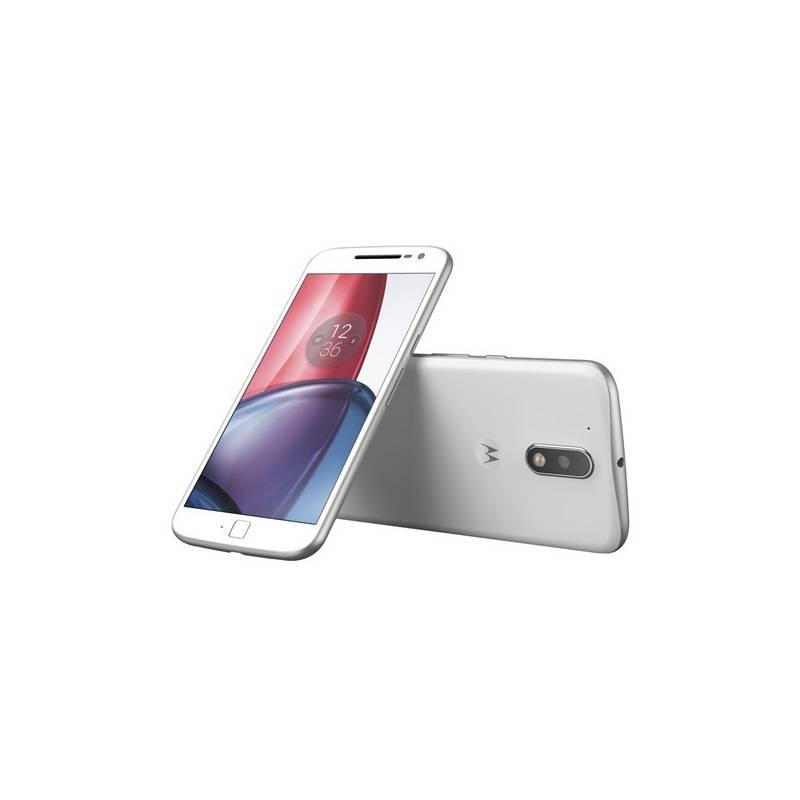 Mobilný telefón Motorola Moto G4 Plus Dual SIM (SM4378AD1N7) biely