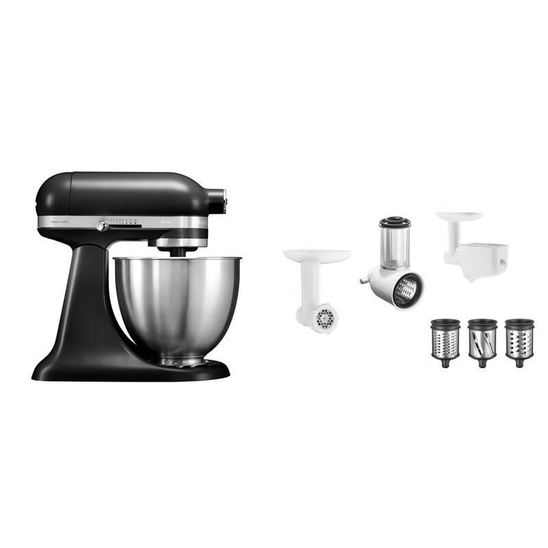 Set výrobkov KitchenAid 5KSM3311XEBM + 5KSM2FPPC