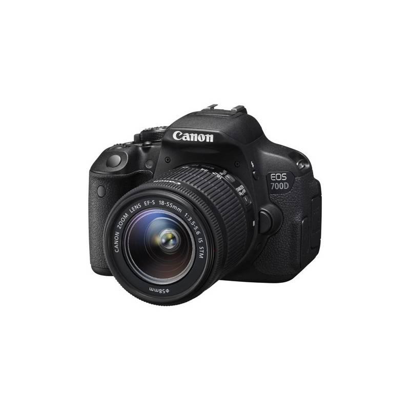 Digitálny fotoaparát Canon EOS 700D + 18-55 IS STM (8596B032) čierny + Doprava zadarmo