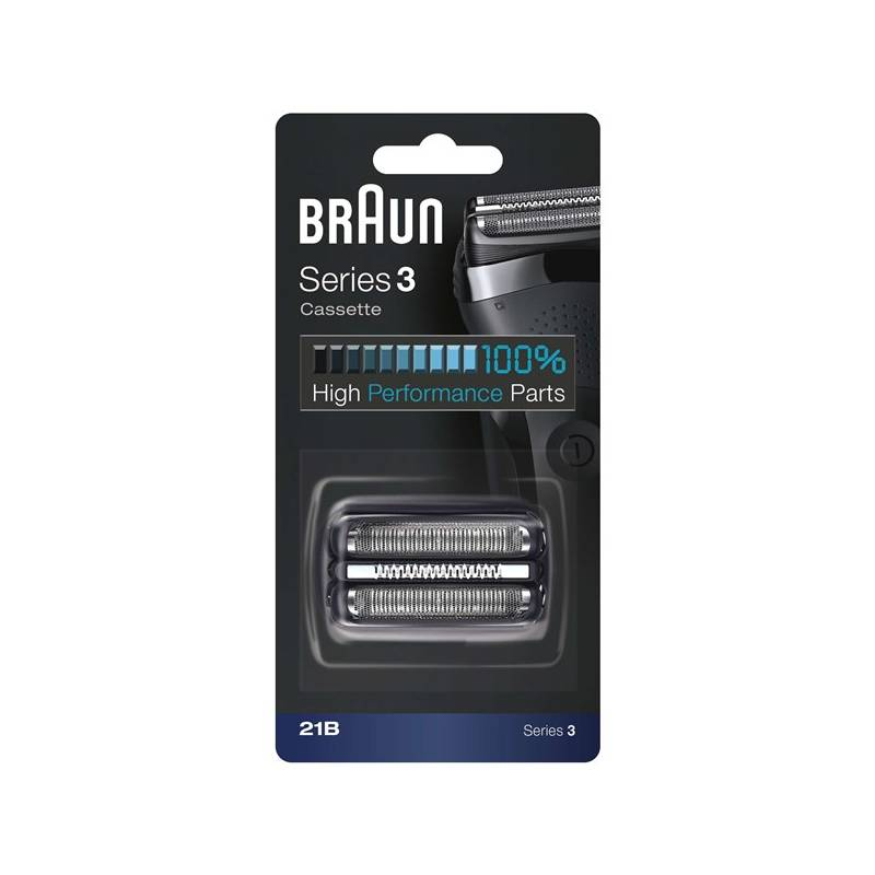 Príslušenstvo pre holiace strojčeky Braun Series 3 21B čierne/strieborné