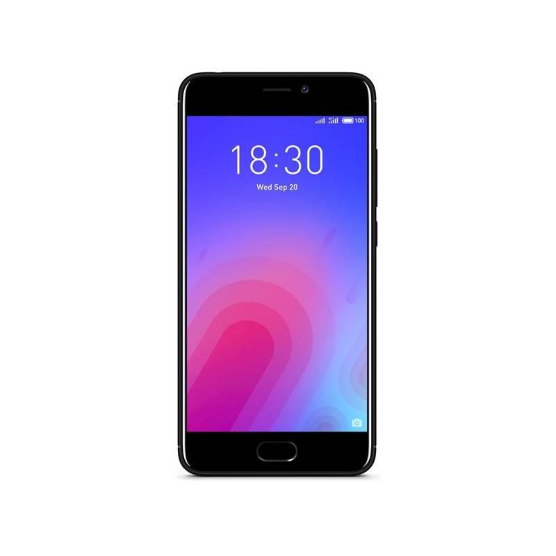Mobilný telefón Meizu M6 (M711H/32GB/Black) čierny Software F-Secure SAFE, 3 zařízení / 6 měsíců (zdarma) + Doprava zadarmo