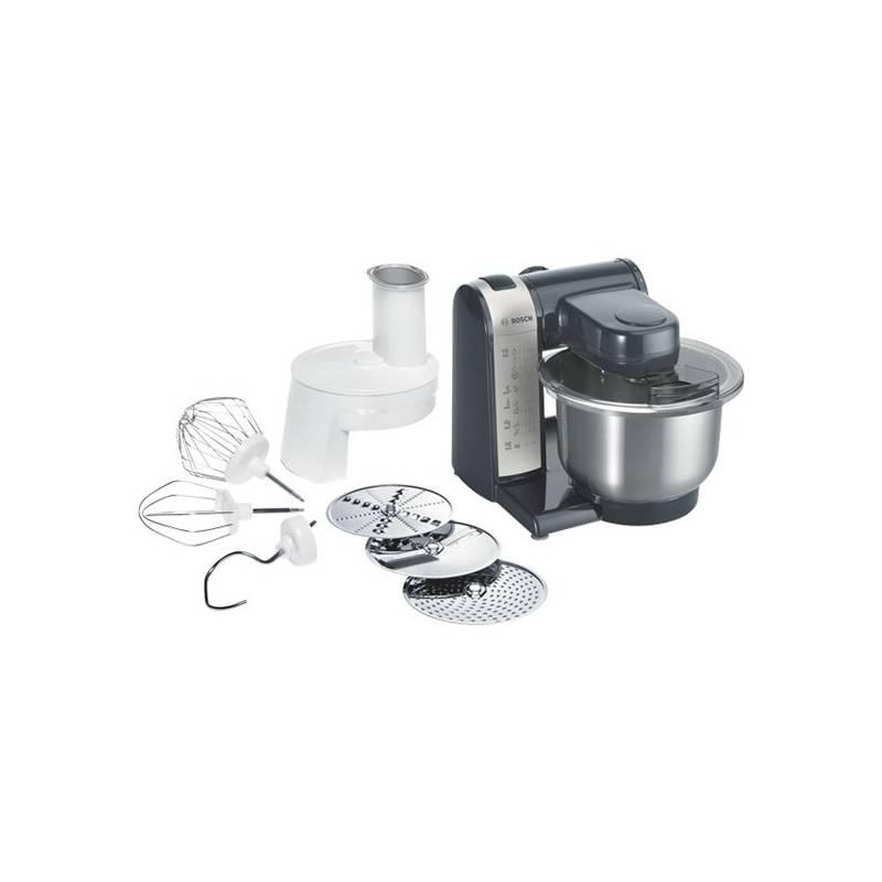 Kuchynský robot Bosch MUM48A1 čierny/strieborný
