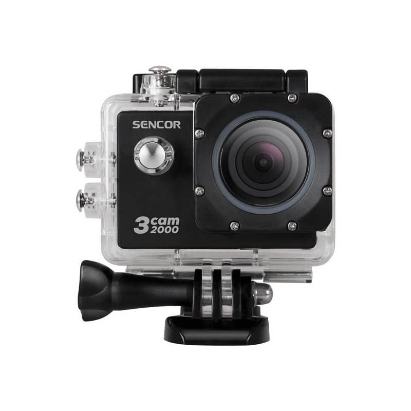 Outdoorová kamera Sencor 3CAM 2000 (35047578) čierna