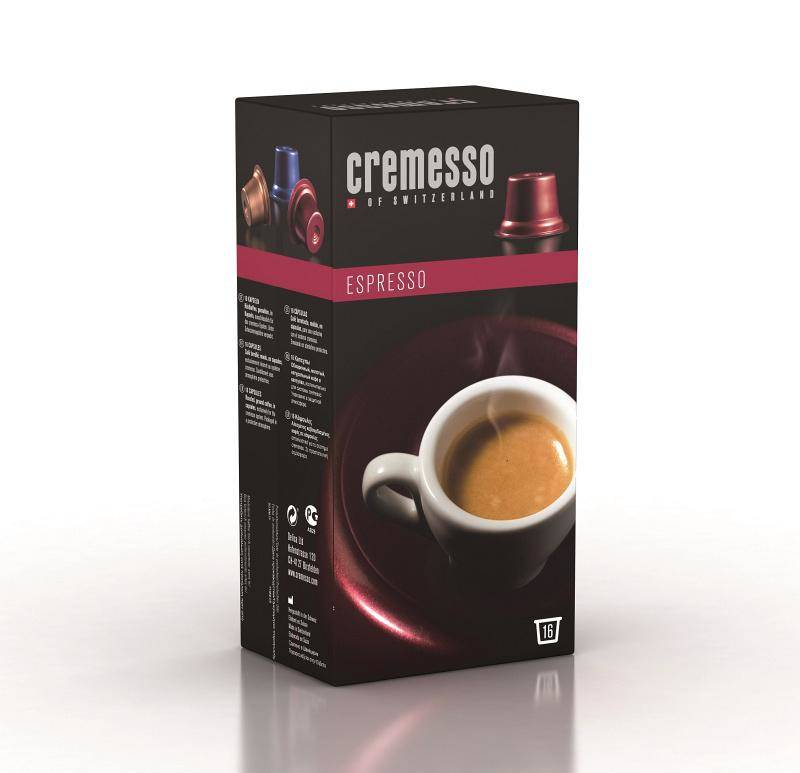 Kapsule pre espressa Cremesso Cafe Espresso 16 ks (232850)