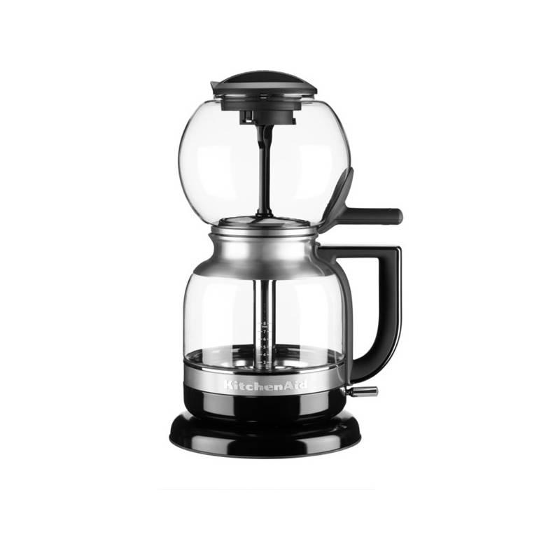 Kávovar KitchenAid Artisan 5KCM0812EOB čierny/sklo