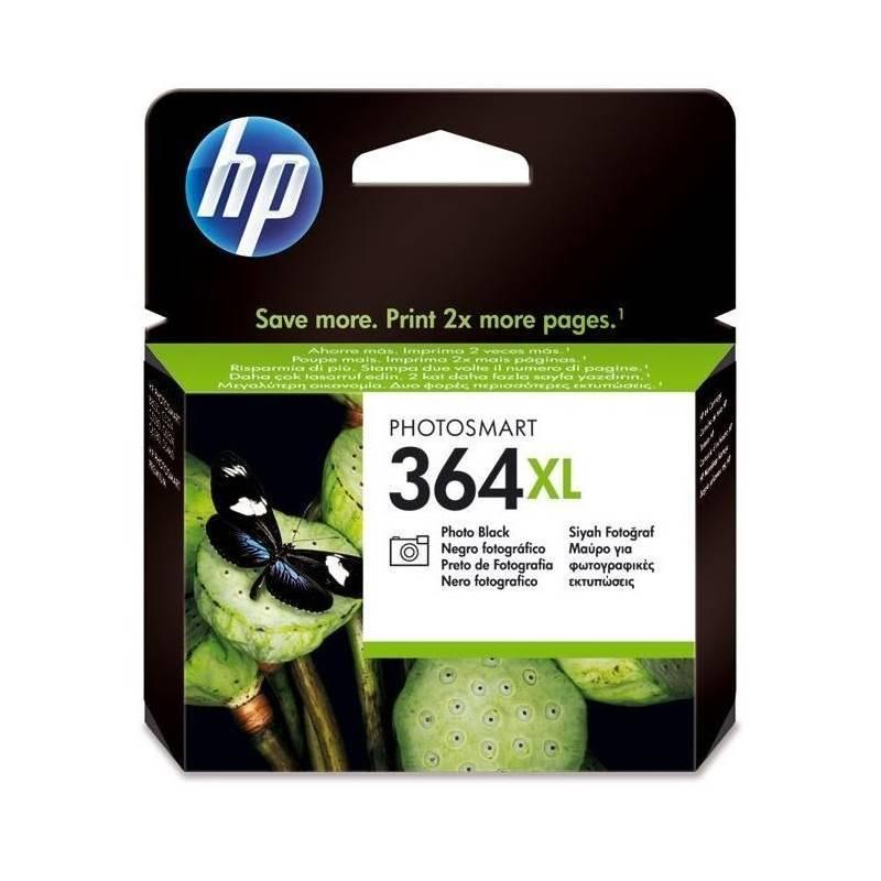 Cartridge HP No. 364XL, 290 stran, foto černá, (CB322EE)