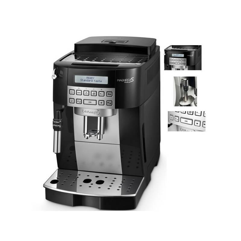 Espresso DeLonghi Magnifica Plus ECAM 22.323.B čierne + Doprava zadarmo