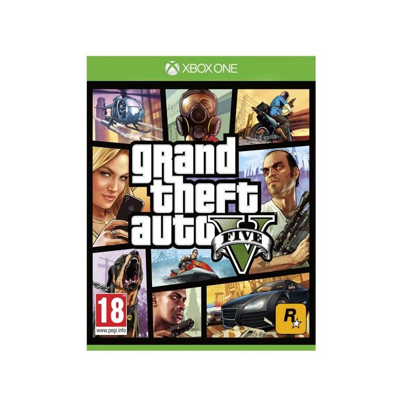 Hra RockStar Xbox One Grand Theft Auto V (427709)
