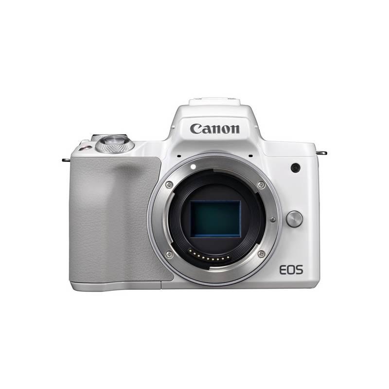 Digitálny fotoaparát Canon EOS M50, tělo (2681C002) biely + Doprava zadarmo