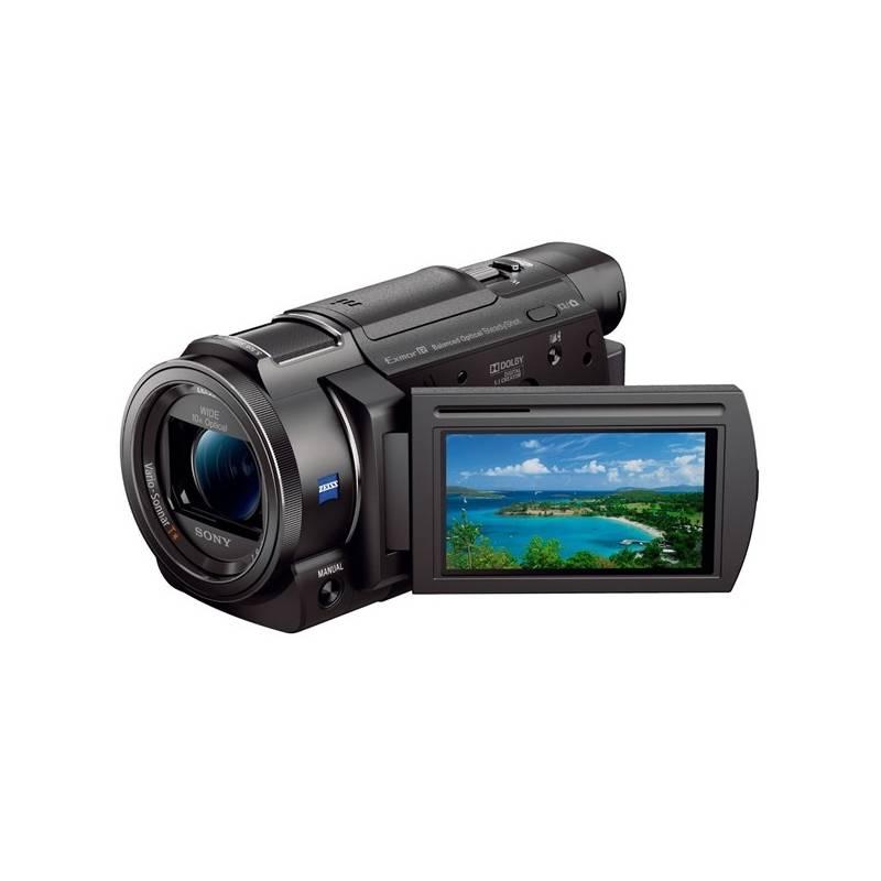 Videokamera Sony FDR-AX33B čierna + Doprava zadarmo