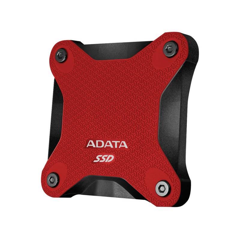 SSD externý ADATA SD600 512GB (ASD600-512GU31-CRD) červený