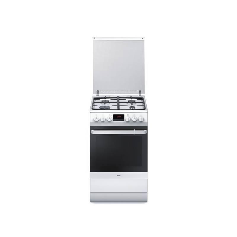 Kombinovaný šporák Amica SHM 51084DA W biely + dodatočná zľava 10 %