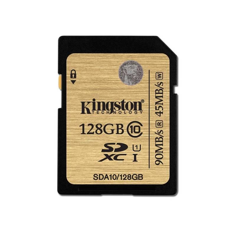 Pamäťová karta Kingston SDXC 128GB UHS-I U1 (90R/45W) (SDA10/128GB)