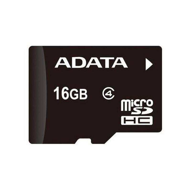 Pamäťová karta ADATA microSDHC karta 16GB Class 4 + OTG čtečka USB 2.0, micro USB (AUSDH16GUICL10-ROTGMBK)