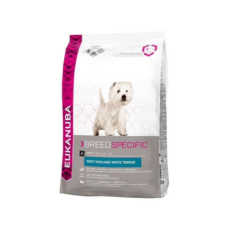 Granule Eukanuba West Highland a White Terrier 2,5 kg