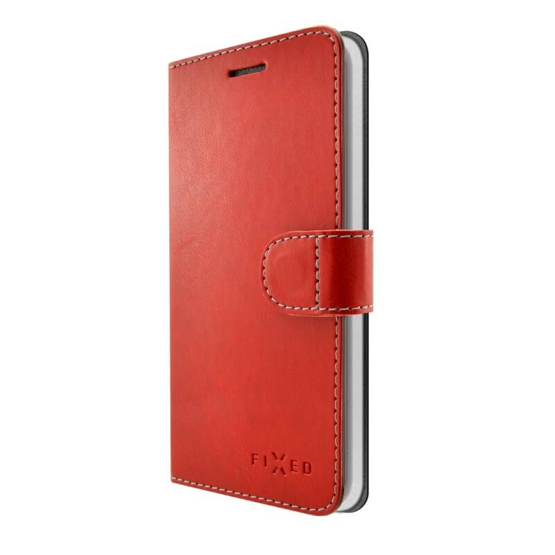 Puzdro na mobil flipové FIXED FIT pro Apple iPhone 7/8 (FIXFIT-100-RD) červené