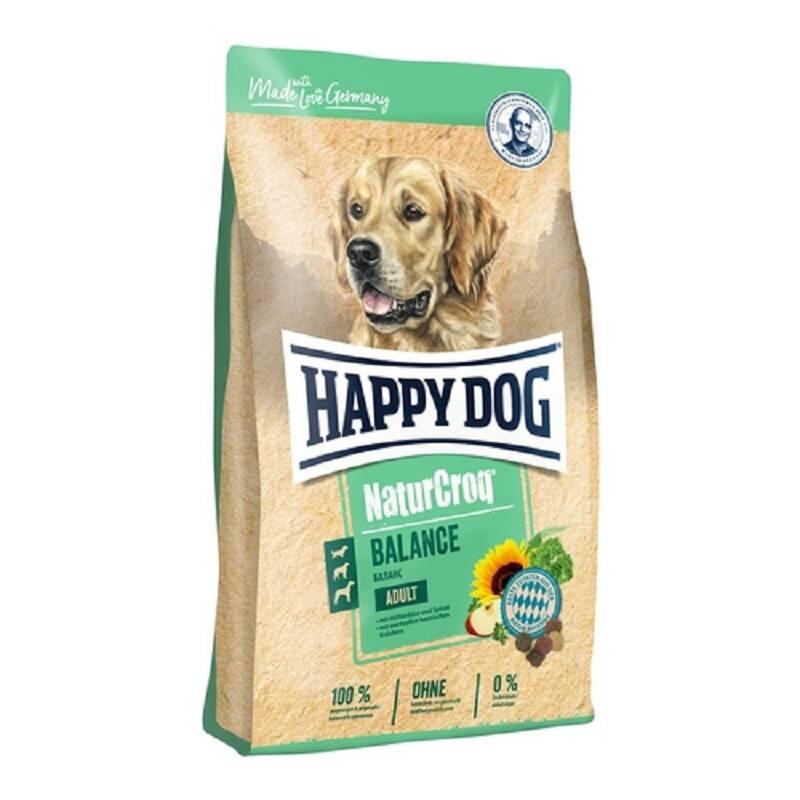 Granuly HAPPY DOG Natur-Croq ADULT Balance 15 kg HAPPY DOG pamlskovník (zdarma)