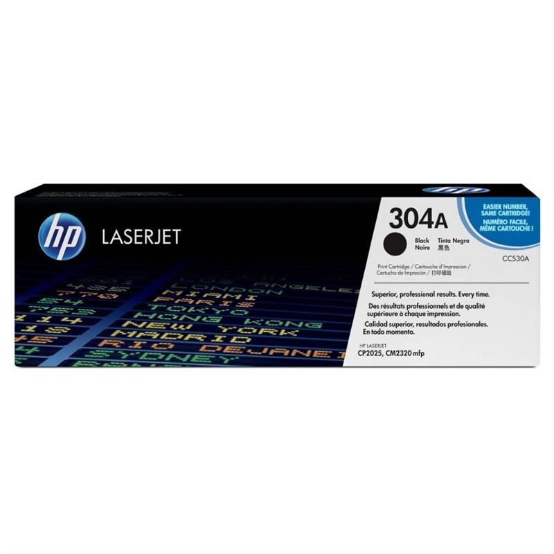 Toner HP 304A, 3500 stran (CC530A) čierny + Doprava zadarmo