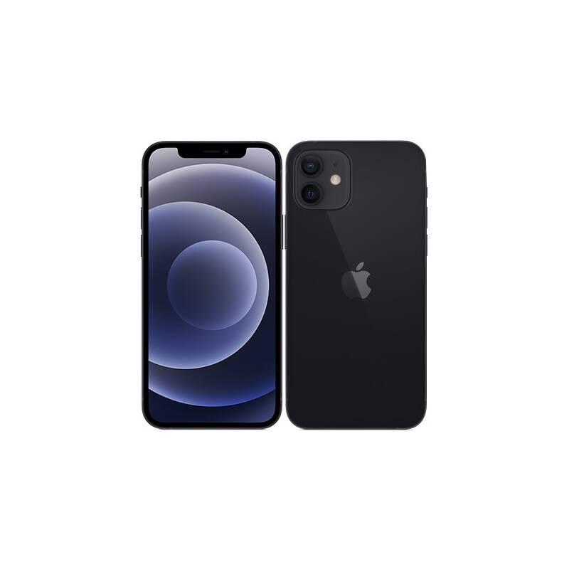 Mobilný telefón Apple iPhone 12 128 GB - Black (MGJA3CN/A) + Doprava zadarmo