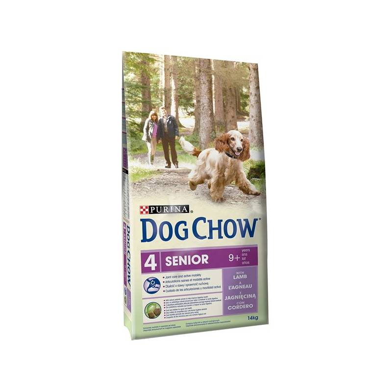 Granule Purina Dog Chow Senior jehněčí a rýže 14 kg