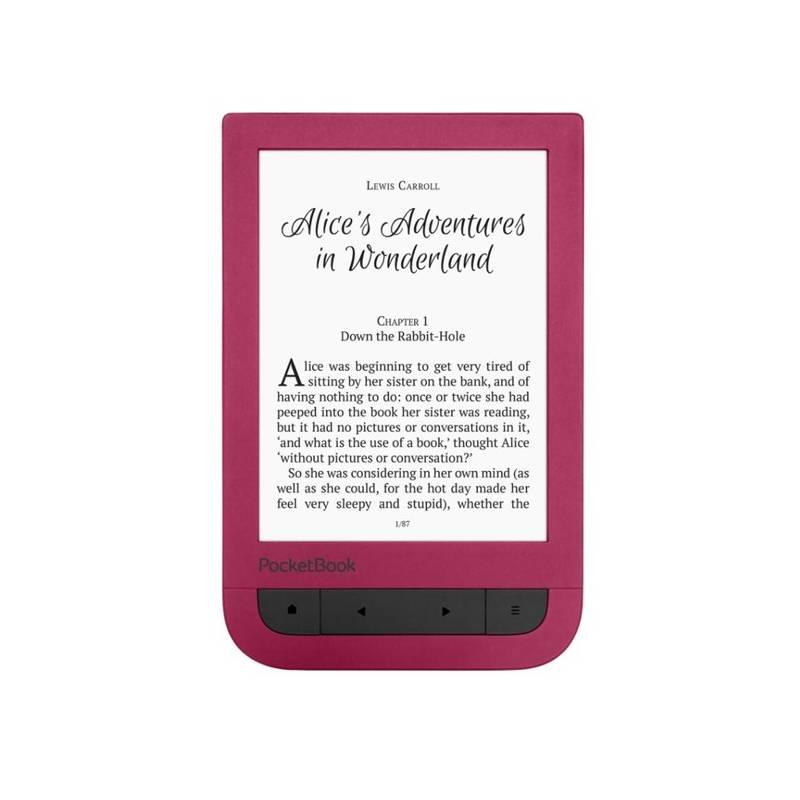 Čítačka kníh Pocket Book 631 Touch HD (PB631-R-WW) červená