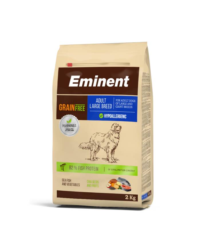 Granuly Eminent Grain Free Adult Large Breed 27/14 2kg