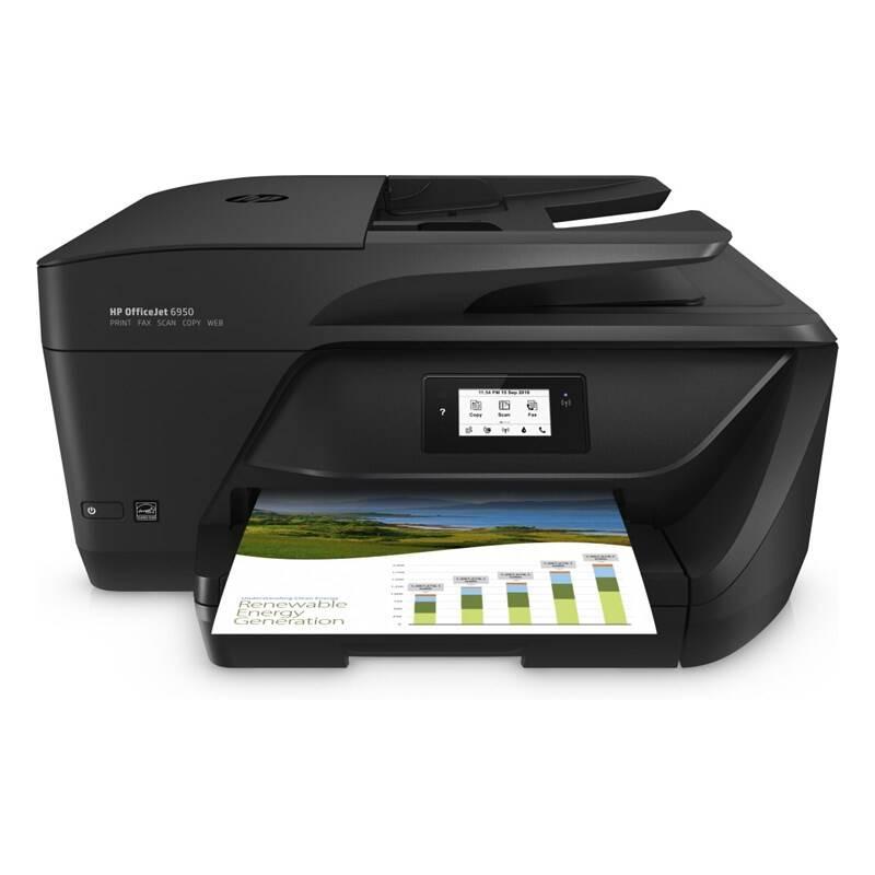 Tlačiareň multifunkčná HP Officejet 6950, služba HP Instant Ink (P4C78A#625) čierna