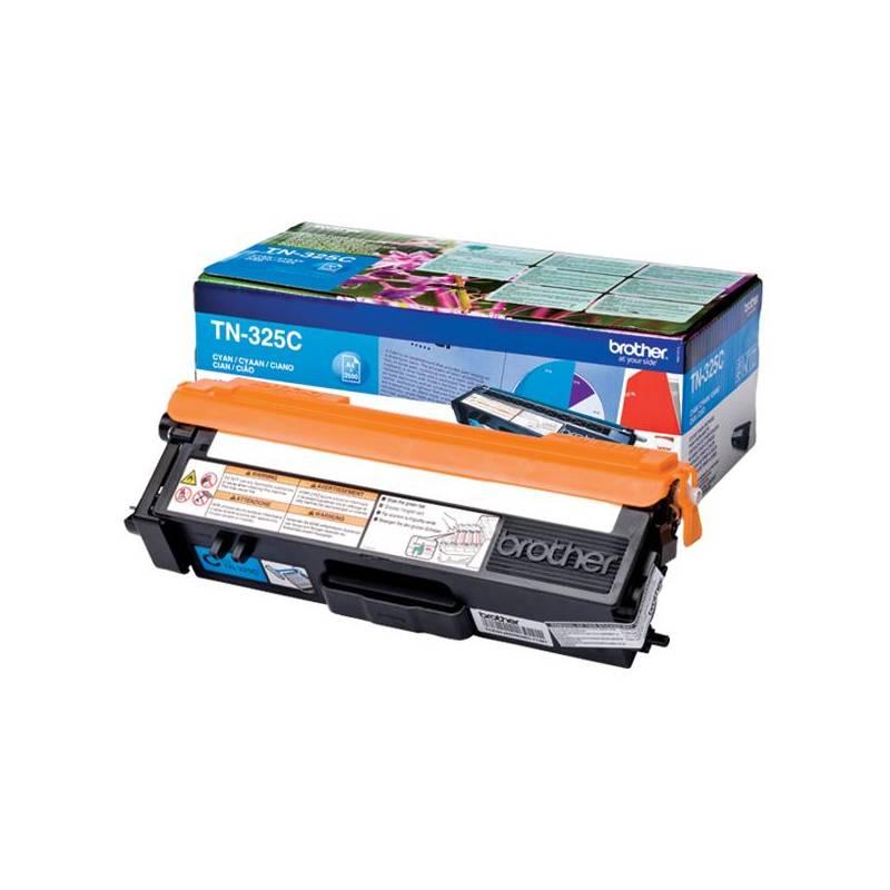 Toner Brother TN-325C, 3500 stran - originální (TN325C) modrý