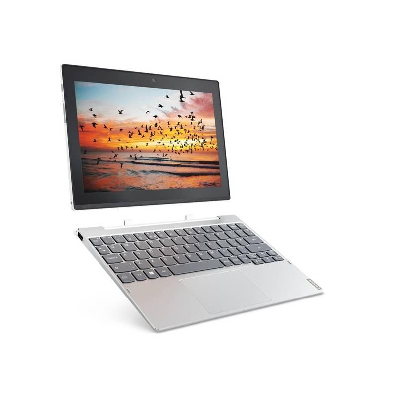 Tablet Lenovo MiiX 320-10ICR LTE (80XF008QCK) strieborný + Doprava zadarmo