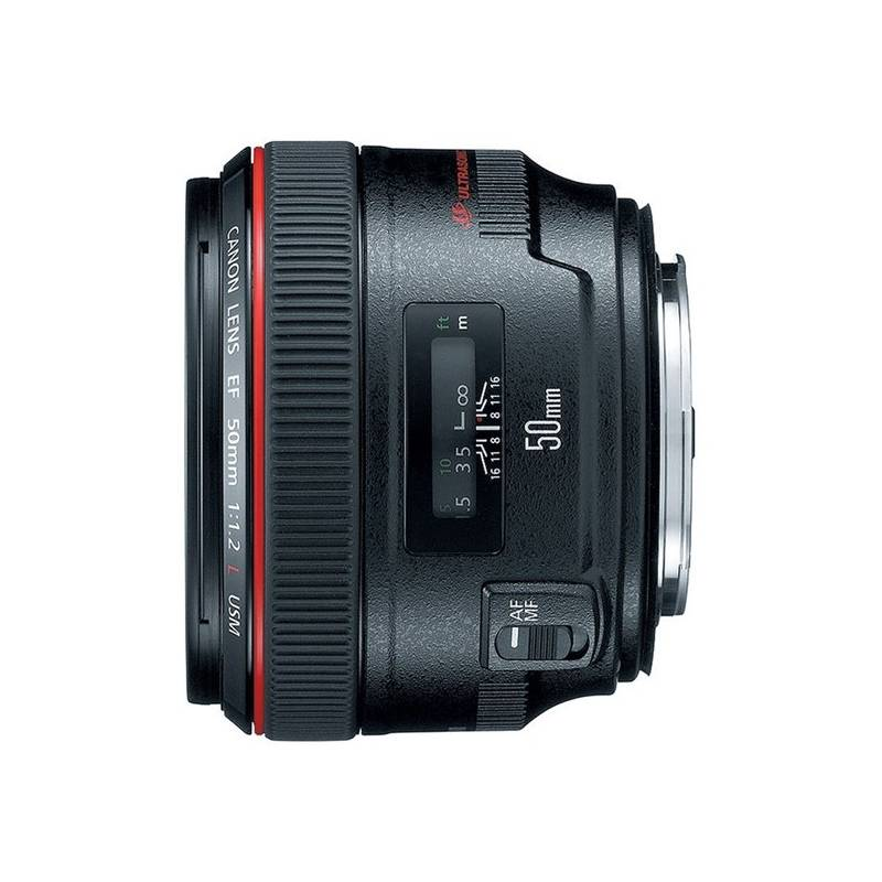 Objektív Canon EF 50mm f/1.2 L (1257B007AA) čierny + Doprava zadarmo