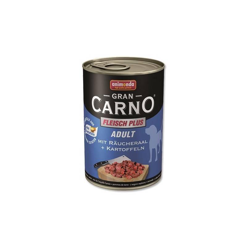 Konzerva Animonda Adult Gran Carno uzený úhoř + brambory 400g